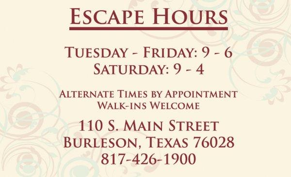 escape-hours